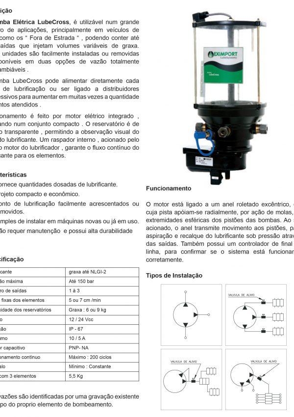 Lubesystem 30260 - BOMBA LUBECROSS-1