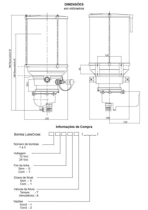 Lubesystem 30260 - BOMBA LUBECROSS-2