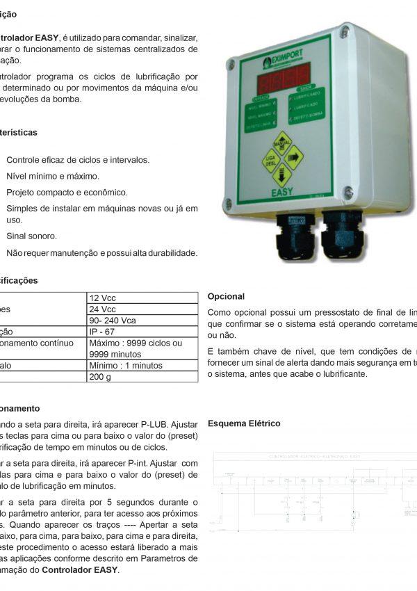 Lubesystem 30267 - CONTROLADOR EASY-1